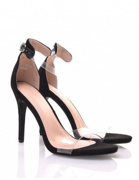 Sandale Suédine Noir 6370