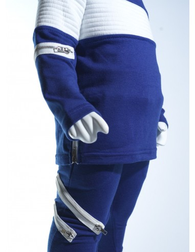 Ensemble jogging zip BLEU BG004 Baby