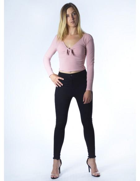 Top noeud M/L ROSE 2307 Femme