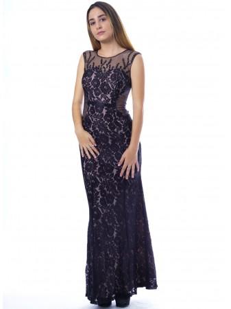 Robe charme NOIRE 9135 Femme