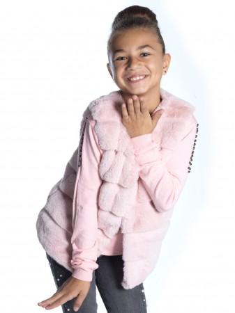 Gilet Fourrure ROSE 2064 Fille 4 à 14 ans
