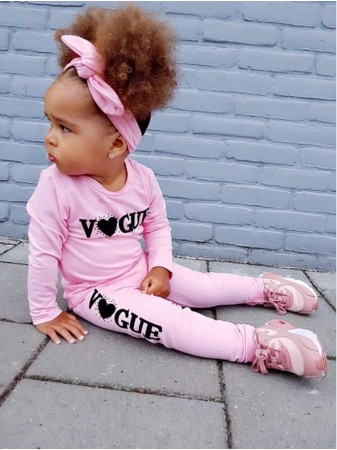 Ensemble VOGUE Rose Fille 6 mois au 4 ans