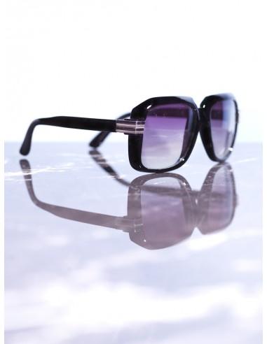 Lunettes de soleil Noir/Violet Homme