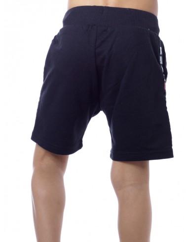 Short SUPER Noir Garçon 4 à 14 ans