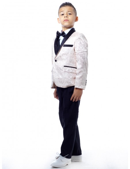 Costume 3 pièces complet Blanc Garçon 4 à 14 ans