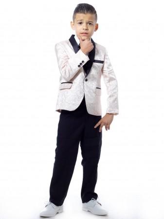 Costume 3 pièces complet Blanc Garçon 1 à 14 ans
