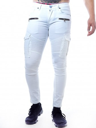 Jeans A310 Blanc Homme