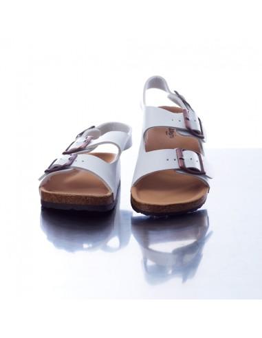 Sandale DR/61L Blanche Garçon du 25 au 36