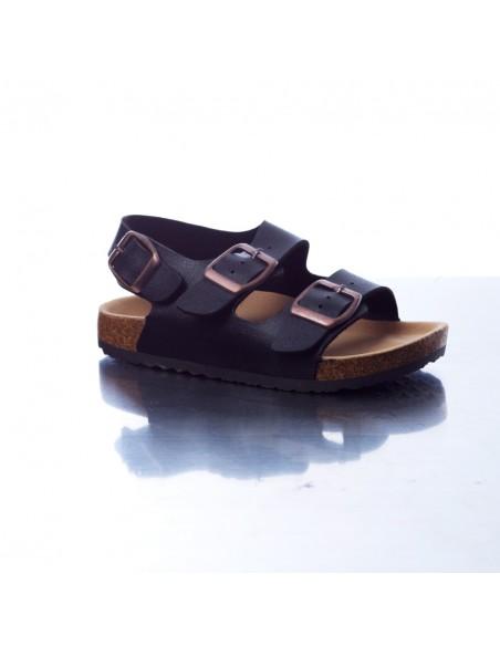 Sandale DR/61L Noire Garçon du 25 au 36