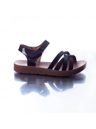 Sandale H/1 Noire du 25 au 36 Fille