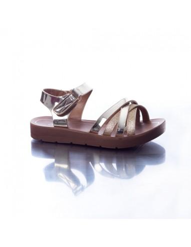 Sandale H/1 Or du 25 au 36 Fille