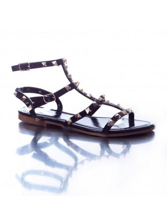 Sandale cloutée 35/123 Noire du 36 au 41 Femme