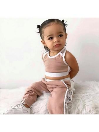 ENSEMBLE JOGGING ROSE BF076 BéBé fille 3 mois a 4 ans