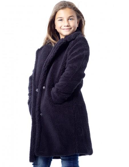Veste Polaire NOIRE Fille 4 à 14 ans
