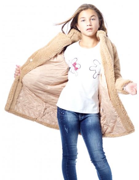 Veste Polaire CAMEL Fille 4 à 14 ans