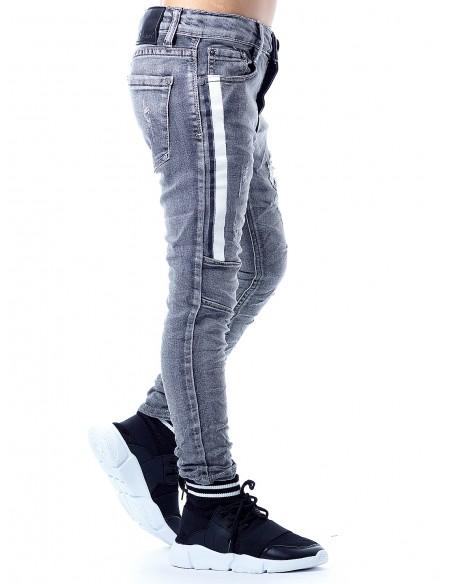 Jeans GRIS 96691 Garçon 4 à 14ans