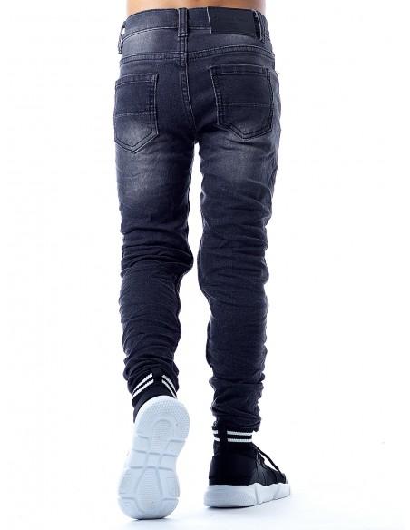 Jeans SN804 NOIR Garçon 4 à 14ans