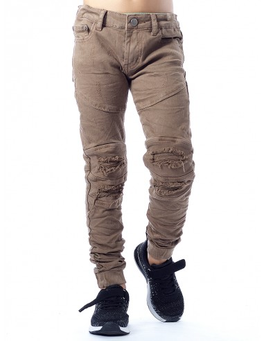 Jeans 63209 MARRON Garçon 4 à 14ans