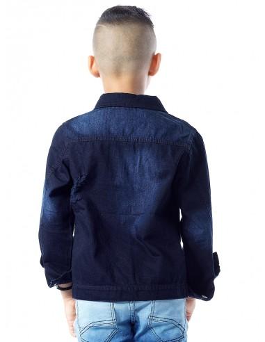 Blouson jeans BLEU MARINE Garçon 4 à 14ans