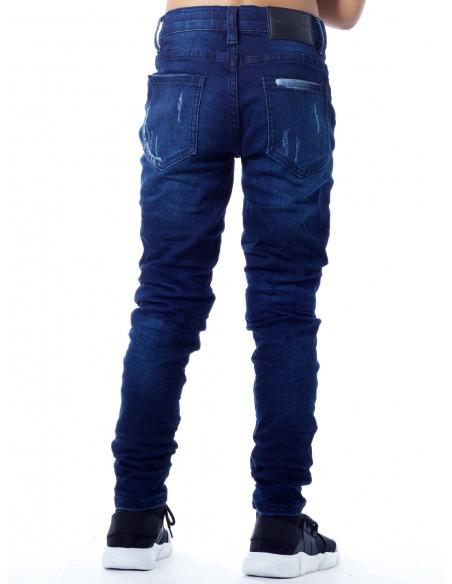 Jeans Destroy SN827 BLEU Garçon 4 à 14 ans