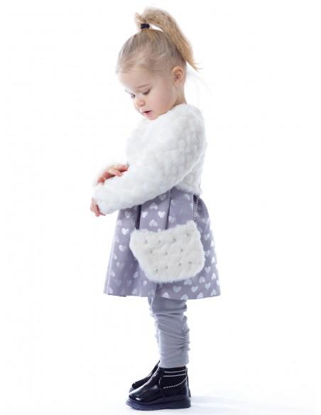 Robe & veste BF178 Baby 6mois/4ans Ensembles Fille du 3 au 24 mois -  ZERDA BOUTIQUE - Mode pas cher