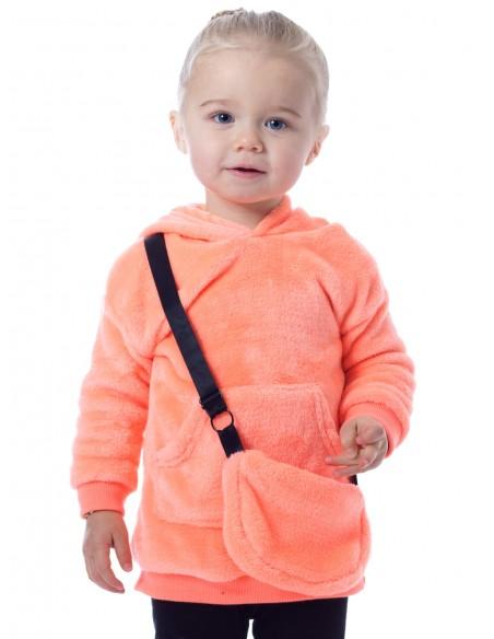 Tunique Fluo 19BF175 Orange Baby 6mois/4ans Ensembles Fille du 3 au 24 mois -  ZERDA BOUTIQUE -
