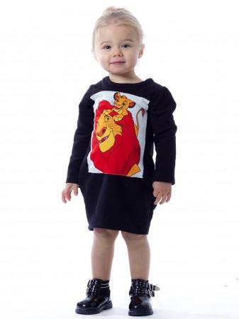 Robe Roi Lion 16075 Noir Baby 6mois/4ans