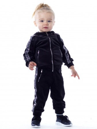 Jogging Strass BF188 NOIR Baby 6mois/4ans