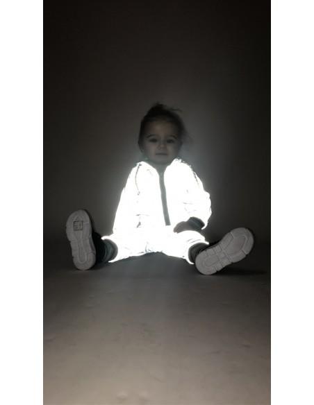 Jogging réfléchissant BG049 Baby 6mois/4ans Ensembles Fille du 3 au 24 mois -  ZERDA BOUTIQUE -