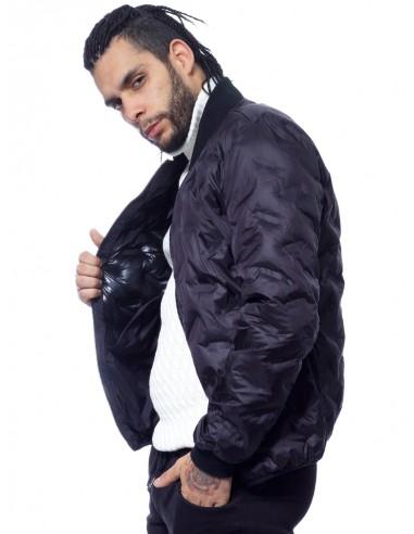 JOHN H - VESTE ZIPPÉE 916 NOIR Vestes-manteaux HAUTS -  ZERDA BOUTIQUE - Mode pas cher
