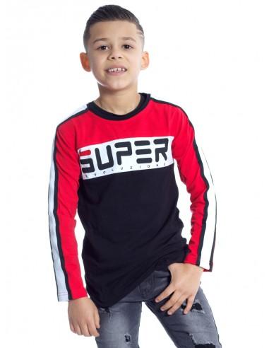 T-SHIRT SUPER P62 NOIR T-shirts Garçon du 2 au 14 ans -  ZERDA BOUTIQUE - Mode pas cher