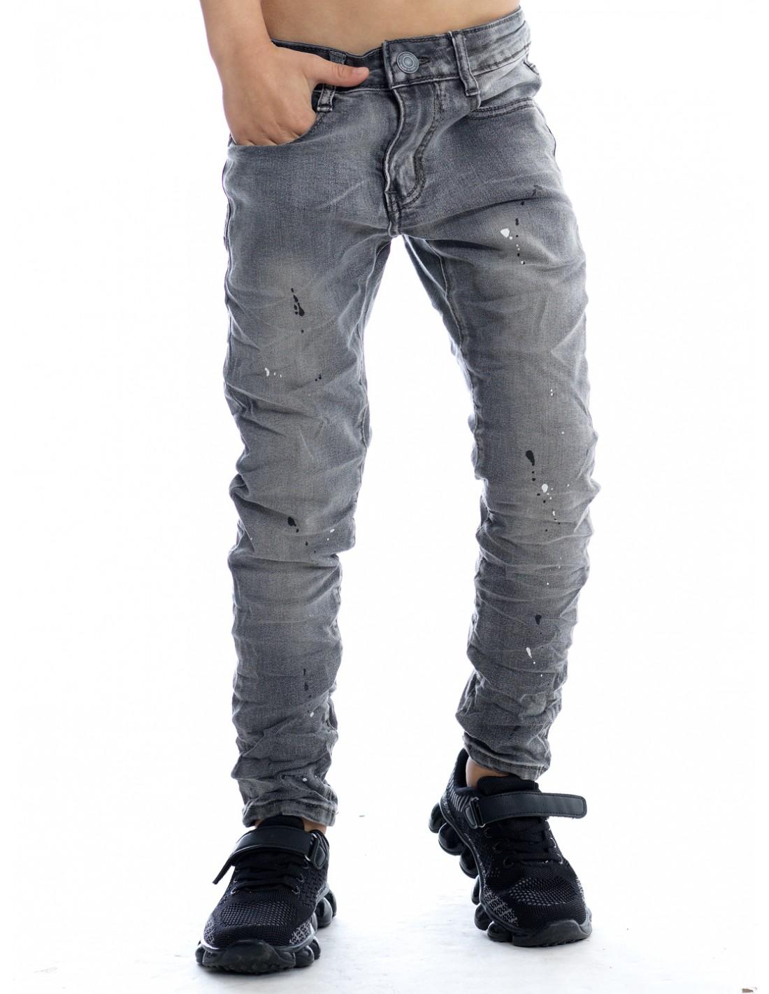 Jean Peinture Slim Et Skinny Garcon Du 2 Au 14 Ans Zerda Boutique 34500 Beziers Mode Pas Cher Fashion