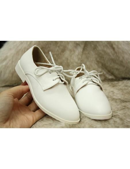 Chaussure f79 Garçon Blanche